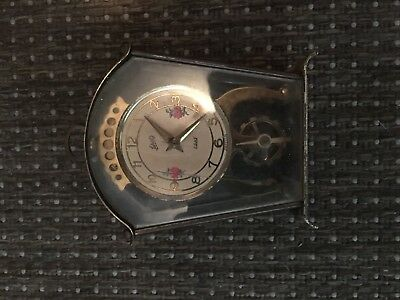 antique clock Schatz & Söhne 8 day 2 jewels unadjusted made in Germany