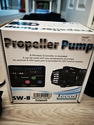 Jecod controller wavemaker SW8 UK plug reef aquarium