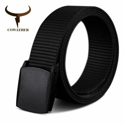 Nylon Material Men's Belt Military Outdoor Male Jeans Tactical Belts Men Luxury
