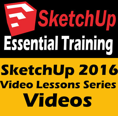 Learn SketchUp Tutorials - SketchUp 2016 Essential Training Video Lessons