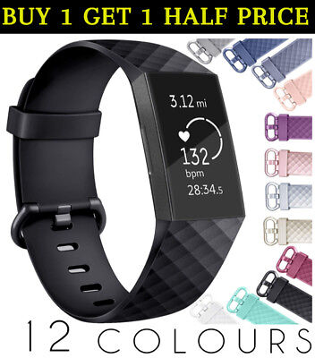 Fitbit Charge 3 / SE Compatible Bands Men Women Replacement Spare Wrist Straps