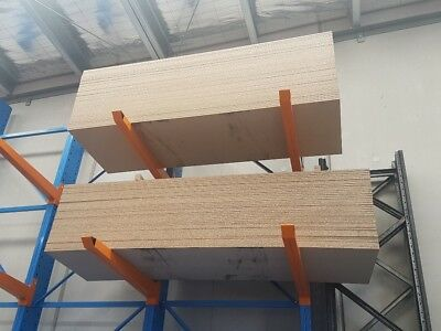 18mm particle board pre-cut for pallet racking 2580mm x 840mm Brand New!!!