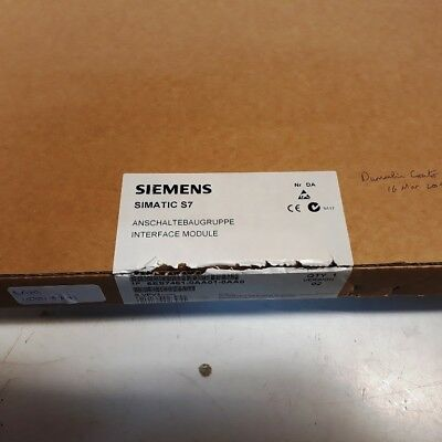 **NEW** Siemens 6ES7461-0AA01-0AA0 Simatic S7 INTERFACE MODULE