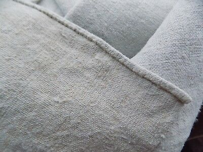 Homespum Flax Linen Fabric 2x0,61m 1880s Color White/Beige Never used