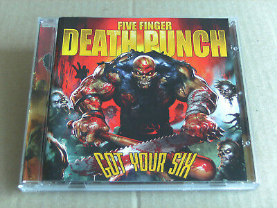 FIVE FINGER DEATH PUNCH -Got Your six / RAMMSTEIN meets DISTURBED / IN FLAMES !