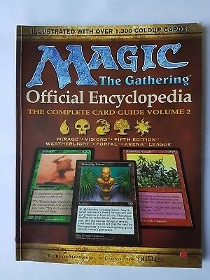 Magic the Gathering: Official Encyclopedia : the Complete Card Guide Volume 2
