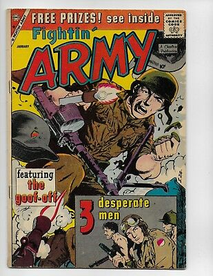 Fightin Army 33 - Vg+ 4.5 - Early Silver Age War Stories (1960)