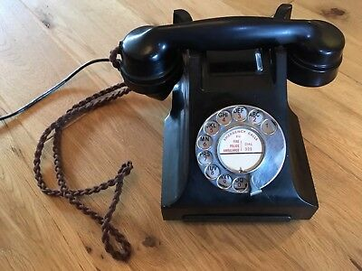 Stunning, Reconditioned, Working Vintage Telephone