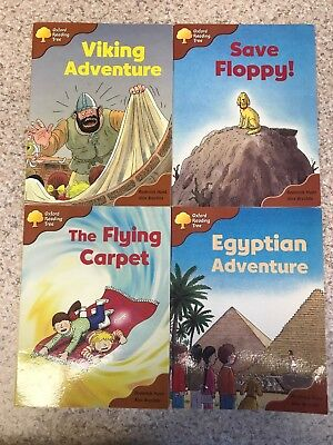 Oxford Reading Tree ORT Stage 8 Magpies Books x 4