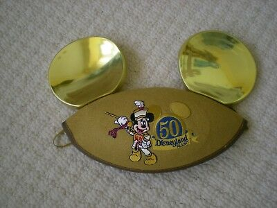 Disneyland Resort 50 Anniversary Gold Mickey Ears  Youth / Small Adult Size