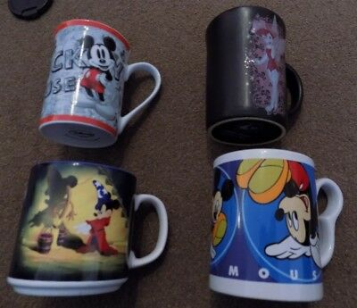 Disney mugs, collection of 4 different mugs. ALL Disney.