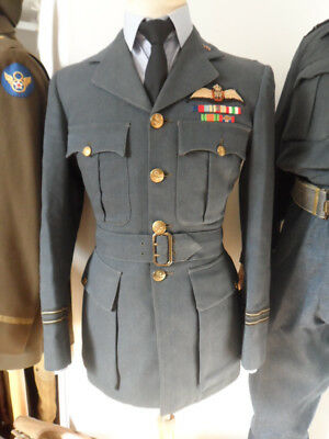 veste de sortie nominative  Flight Lieutenant  - RAF - ww2