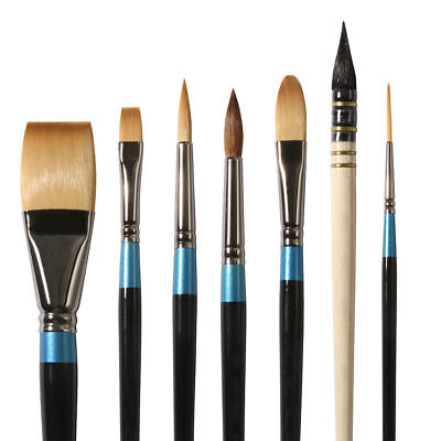 Daler Rowney Aquafine Watercolour Paint Brushes in Assorted Shapes and Sizes
