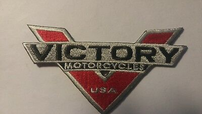 Victory Motorcycle Embroidered Patch