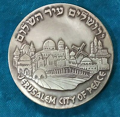 Freimaurer-Medaille Jerusalem / Israel Grand Lodge - Masonic