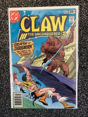 Claw The Unconquered # 11 - Dc Comics