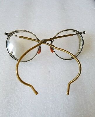 Vintage  AO Safety Steampunk Goggles Plastic Mesh