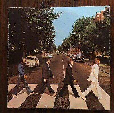 The Beatles, Abbey Road LP.  70s Apple Records release.  VG+