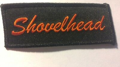 Harley Davidson SHOVELHEAD embroidered patch
