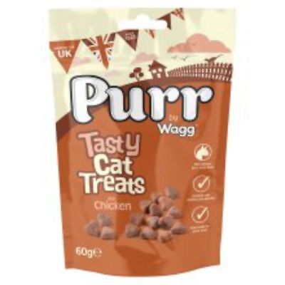 Wagg'prrrs Cat Treats With Chicken 60g Wagg