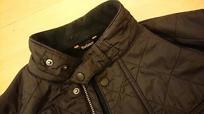 BARBOUR INTERNATIONAL Mens Quilted Jacket - Navy - Style: Ariel Polarquilt