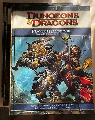 Dungeons and Dragons 4th D&D Core Rulebook Collection (Englisch)