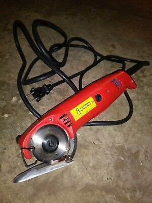 Eastman Chickadee D2 Rotary Handheld Electric Fabric Cutter / Cutting Machine