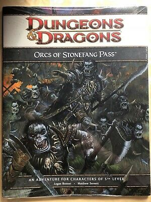 Dungeons and Dragons 4th D&D Adventure: Orcs of Stonefang Pass (Englisch)