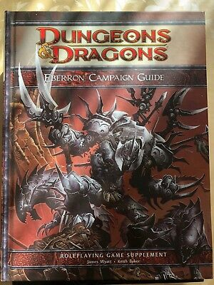 Dungeons and Dragons 4th D&D Eberron Campaign Guide (Englisch)