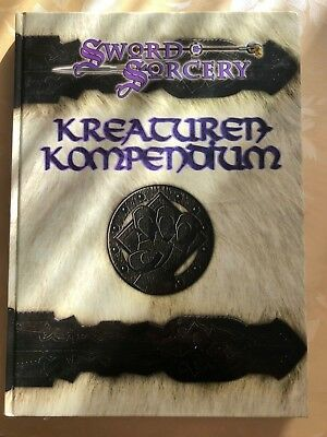 Dungeons and Dragons 3th D&D Kreaturen Kompendium Sword & Sworcery (Deutsch)