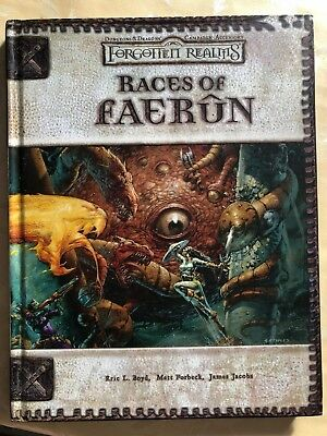 Dungeons and Dragons 3th D&D - Races of Faerun - Sword & Sworcery (Englisch)