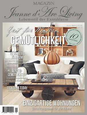 Jeanne d'Arc Living Wohnmagazin 1/2019 Shabby Brocante Vintage