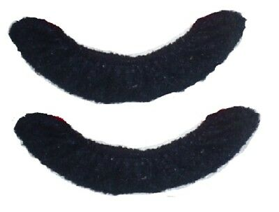 Terry Blade Soakers for Figure Skates or Ice Hockey Skates one pair Youth BLACK