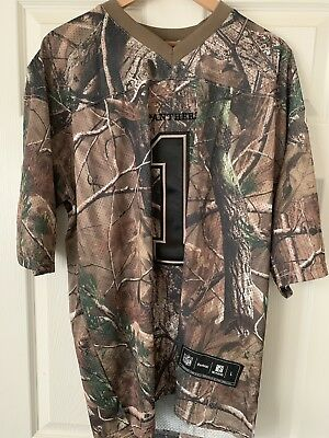 NFL Men s Jersey CAMO Carolina Panthers CAM NEWTON Size L Reebok New With  Tags 744b03b3a