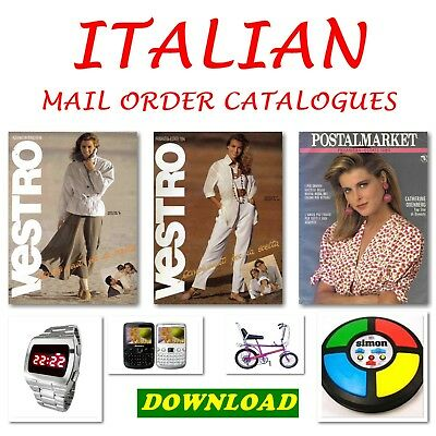 Italian Catalogues Mail Order Catalogues Download Pdf