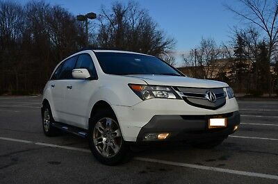 2007 Acura MDX Technology 2007 Acura MDX Tech Package, Tow,  Roof rack