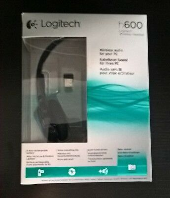 LOGITECH H600 CUFFIA Wireless Bluetooth 97b55e8f93b6