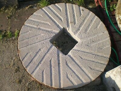 Antique millstone