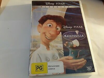 Disneys - Ratatouille Dvd! New And Sealed! Region 4 & Pal Free Uk P&p!