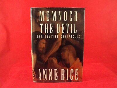 Vampire Chronicles: Memnoch the Devil  by Anne Rice SIGNED!!! 1st. Edition!!