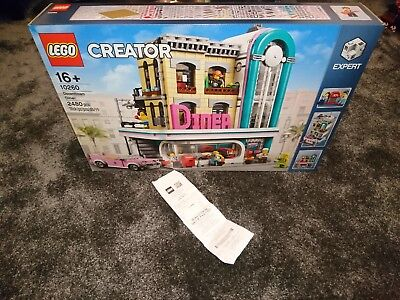 LEGO 10260 CREATOR EXPERT DOWNTOWN DINER Collectors Edition - with receipt