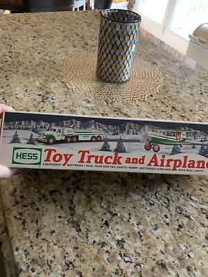 Hess 2002 Toy Truck and Airplane  - New in Box - Never Opened - Fast Shipping