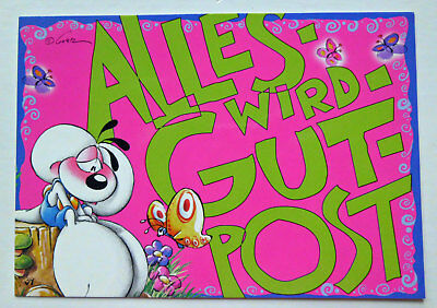 Diddl WOW-Karte Nr. 39A ##  ALLES-WIRD-GUT-POST  ##  Top-Zustand