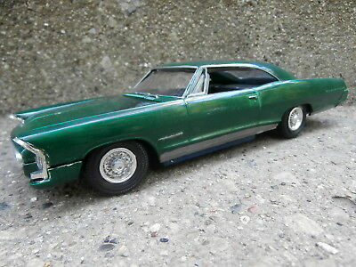 VINTAGE '65AMT PONTIAC BONNEVILLE BUILT CUSTOM SHOW CAR MODEL PARTS/JUNKYARD lot