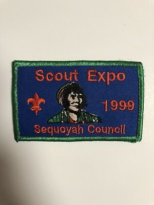 BSA 1999 Sequoyah Council EXPO Patch - Boy Scouts