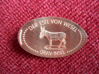 Elongated Coin Wesel (NRW)