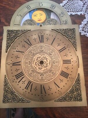 GRANDFATHER CLOCK DIAL Face HERMLE 79 451-050 CHAIN DRIVEN Movement Others