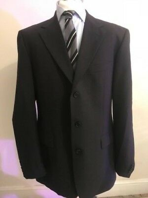 bcc886cc5 HUGO BOSS ANGELICO/PARMA Virgin WOOL MENS Suit Size UK 42L/ EU 106 ...
