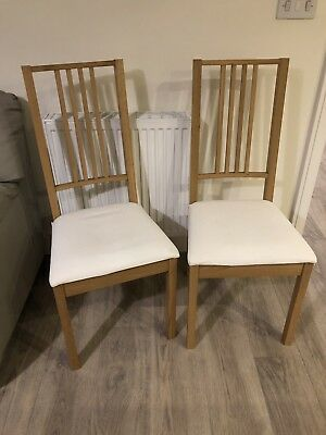 Ikea Dining Room Chair X2 Borje Good Condition