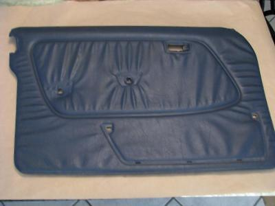 W123 300D 240D Mercedes Benz Left Side Door Panel Blue